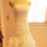 ロングトレーンが魅力のマーメイドウェディングドレス!