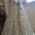 クラシカルなウェディングドレス!