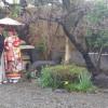 和のお庭でお二人だけの和装前撮り!