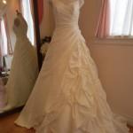販売ロングトレーンウェディングドレス!