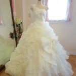 身長が低い花嫁様にオススメウェディングドレス!